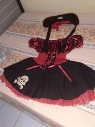 Fantasia de pirata (feminino) Plus size, usado comprar usado  Paulista