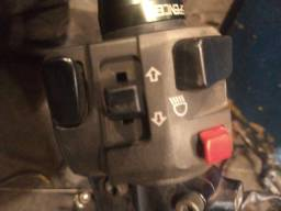 Comutador de luz da Kawasaki z 750 esquerdo