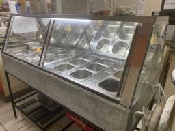 Buffet quente/frio e seco - Muito top! Ideal para self-service ou lanches