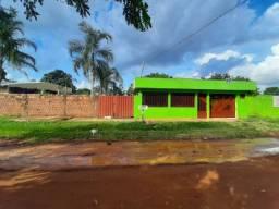 Casa 3 quartos com suíte, com salão. terreno 15x33=495m² de esquina, com varanda