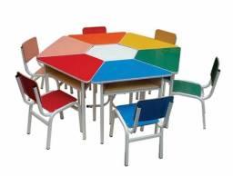 Mesa Infantil 6 lugares