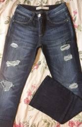 Calça jeans assédio tm 38