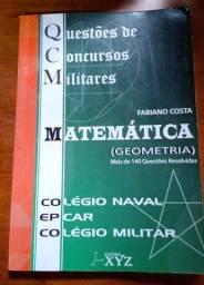 Combo de livros didático QCM para curso militares