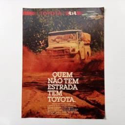 Toyota Bandeirante - Propaganda de revista