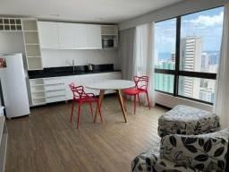 Título do anúncio: LF*O melhor flat/hotel de Boa Viagem,45m²,vistaa do mar,incluso limpeza diaria+tv+internet