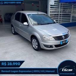 Título do anúncio: Renault Logan Expression 1.0 2013
