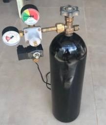 Cilindro CO2 de aço de 4 kilos