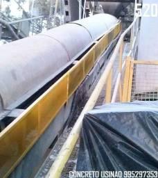 Título do anúncio: Concreto Bombeado Caminhão Betoneira em Zona Oeste Santa Cruz