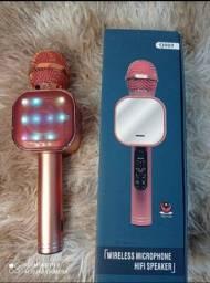 Título do anúncio: PROMOCAO Microfone karaokê ENTREGA GRATIS