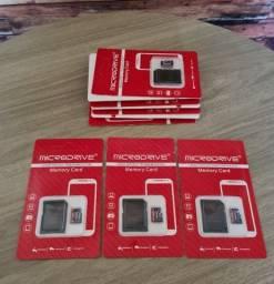 Título do anúncio: Cartão de memória 16gb, 32gb, 64gb, 128gb e 256gb + adaptador