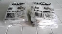 Luvas Plásticas Descartáveis Talge - C/ 1500