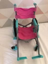 Cadeira de rodas American girl