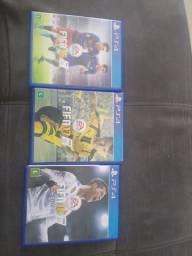 Jogos PS4 FIFA 16 + 17 + 18