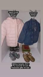 Título do anúncio: roupas infantil/ melissa