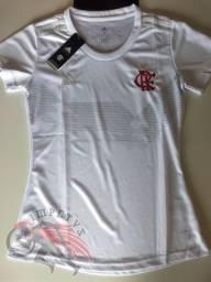 Camisa Flamengo 70 anos Adidas Feminina