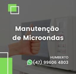 Manutenção de microondas