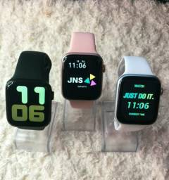 Smartwatch iwo13 lite (coloca foto, faz chamada, cora funcional) +3 Brindes