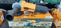 Esmerilhadeira/  lixadeira industrial 750 watts Ingco