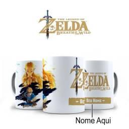 Zelda Canecas Personalizadas Perfeitas para fãs!