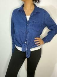 Camisa jeans importada M/G