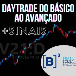 Título do anúncio: Curso Profissional Daytrade B3 Bolsa de Valores