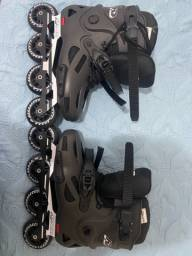 Patins inline freestyle HD skull -80mm abec-9