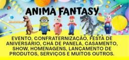 Título do anúncio: Animação e aluguel de fantasias inflável