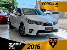Título do anúncio: Toyota Corolla gli 2016 completão revisado