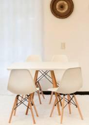 Mega Promoção .Conjunto de mesa estilo Eiffell + 4 cadeiras! 799,00 em 10 x sem juros