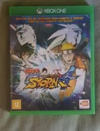 Jogo de Xbox One: Naruto Shippuden: Ultimate Ninja Storm 4.
