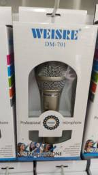 Microfone com fio