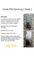 Título do anúncio: Samsung M30