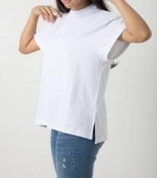 Título do anúncio: Camisa Boyfriend Branca Feminina