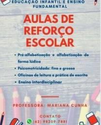 Título do anúncio: Atendimentos pedagógicos- reforço escolar