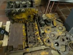 Motor Perkins 4248 Desmontado