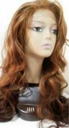 Peruca cabelo 100 % organic hair