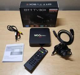 Tv box 4k Mxq pro 2Gb de ram 8Gb de memória interna