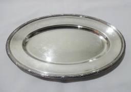 Travessa oval prata Fracalanza 36 cm