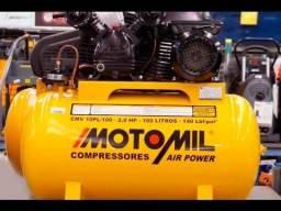 Compressor De Ar Motomil 10 Pés Cmv 10pl/100 (110v/220v)