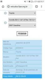 Corolla seg 1.8 flex 16v aut. (Ji Parana) - 2007