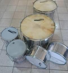 Escola de Samba (kit completo, utilizado apenas duas vezes) 1.580 SÓ VENDA!