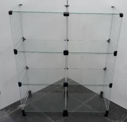 Balcão Vitrine de vidro