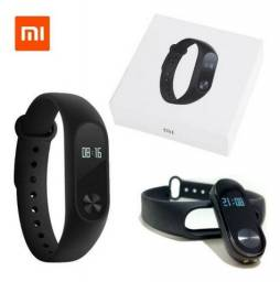 Relógio Xiaomi Mi Band 2 Smart Watch Para Android Ios Preto - Novo - Original