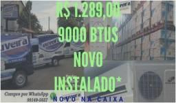 Menor preço do Estado em ar condicionado split já instalado 9000 e 12000btus