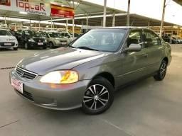 Honda Civic LX 1.6 Mecânico Completo- Raridade!! - 2000