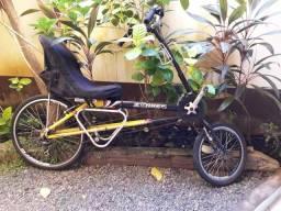 Bicicleta reclinada Zohrer exd