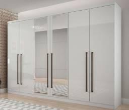 Guarda Roupa Bari c/Espelho Novo Horizonte (produto novo na caixa)
