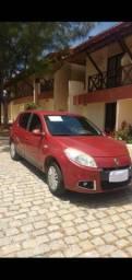 Sandero automático 1.6 completo 2012