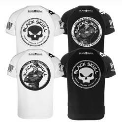 Camisetas Black skull