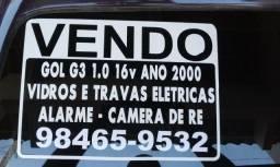 Vendo carro WV GOL G3 1.0 16 V - 2000